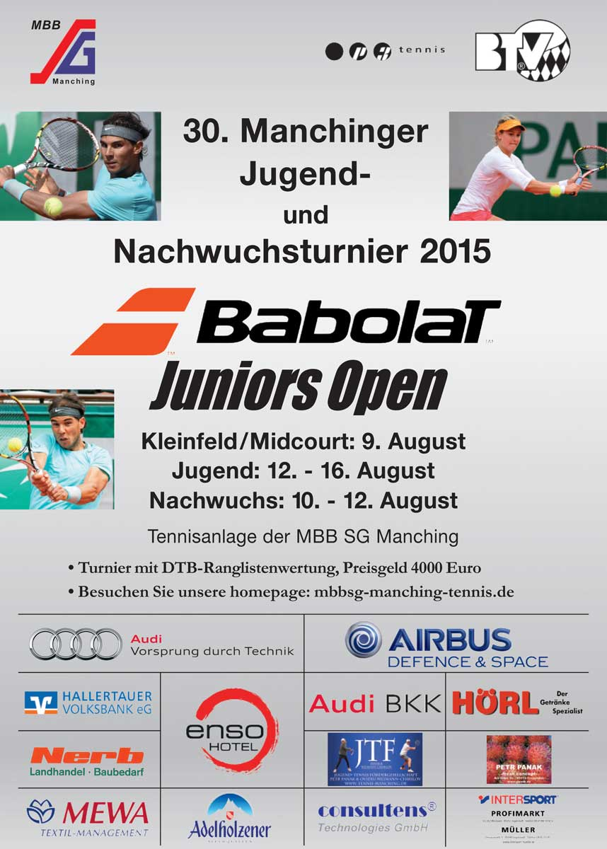 Turnier 2015 - MBB SG Manching Tennis